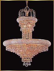 Crystal Chandeliers Small to Medium